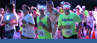 Hotter 'n Firecrackers Glow Run