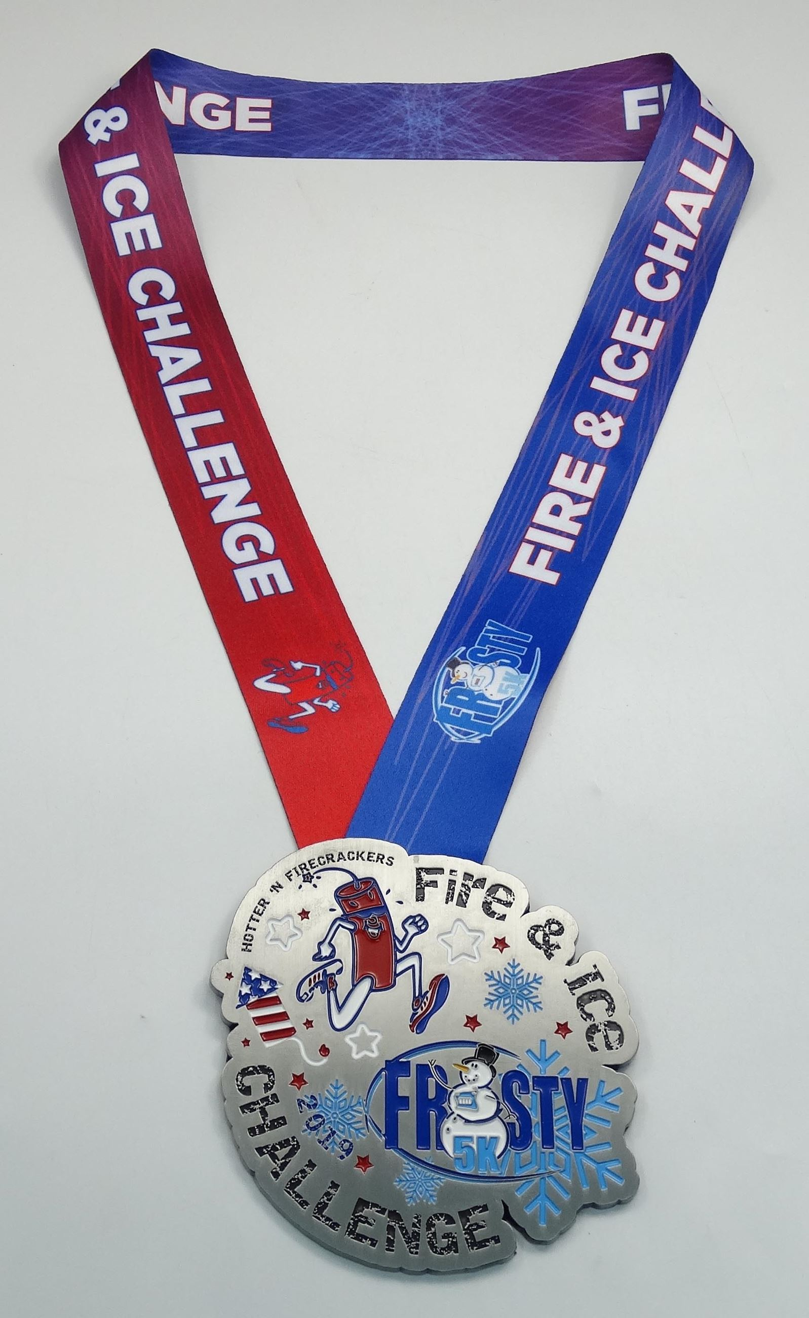 2019 Fire and Ice Challenge Medal
